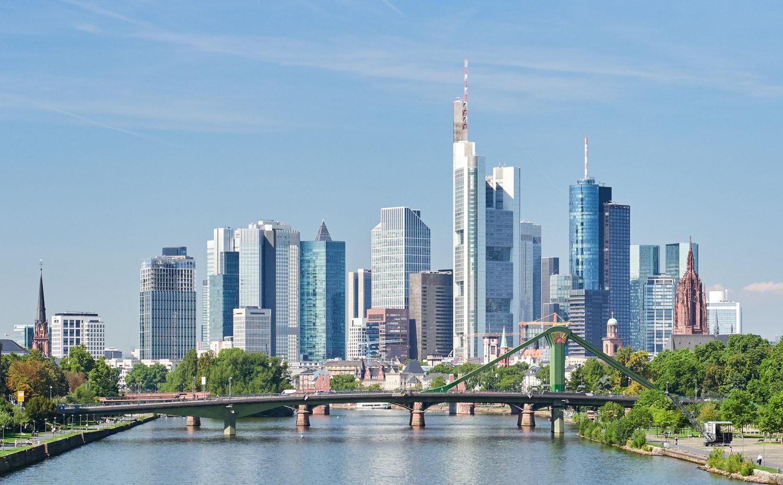 ville de francfort à forte croissance en Allemagne