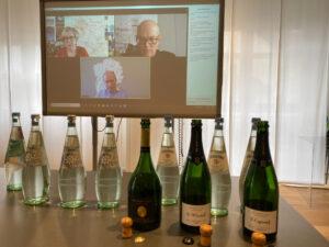 dégustation online de Champagne